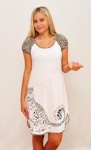 Ночная сорочка с коротким рукавом Леопард Tovray 67