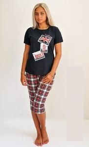 Трикотажный костюм футболка с бриджами Лондон Tovray Тк-77Б