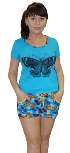 Домашний костюм футболка с шортами Рената Tovray СК69 (SF)