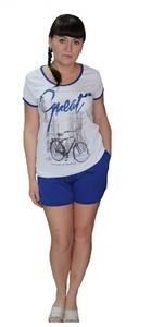 Домашний костюм Сандра футболка с шортами Tovray СК85 (SF)