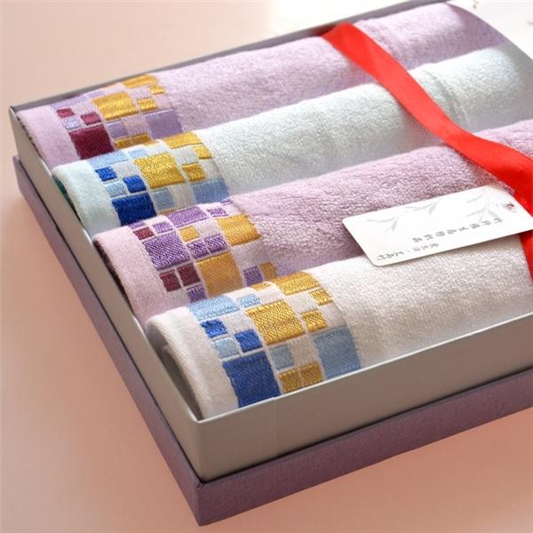 Подарочный набор полотенец из бамбуковых волокон