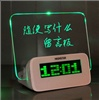 Креативная доска-памятка с часами и USB разъёмами