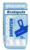 Минеральная фасадная декоративная штукатурка Шуба 2,0 Шпатен SHPATEN KRATZPUTZ