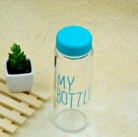Бутылка My bottle голубая Оригинал