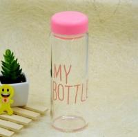 Бутылка My bottle розовая Оригинал