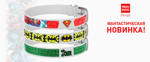 Collar WAU DOG Design (Серия DC Comics)