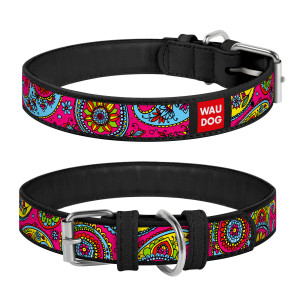 Collar WAU DOG Design Exclusive 26-35 см