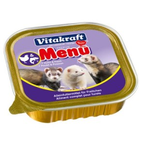 Консервы для хорьков Vitakraft FERRET Menu 100 г