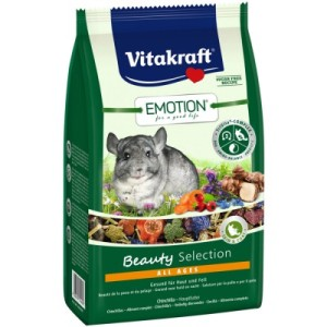 Корм для шиншилл и дегу Vitakraft Emotion Beauty Selection 600 г