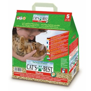 Подстилка Cat's Best Oko Plus (Кетс Бест Эко Плюс) 20л/8,6 кг.