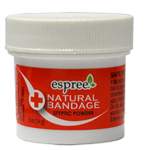 Натуральный ранозаживляющий порошок для собак и котов Espree (Natural Bandage Styptic Powder ) 44 мл