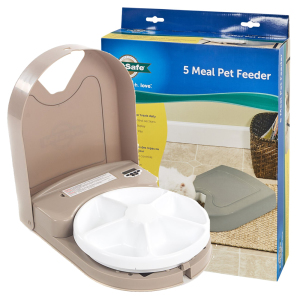 Автоматическая кормушка для котов и собак небольших пород PetSafe Eatwell 5 Meal Pet Feeder (Пэтсейф Итвелл), с таймером, на 5 порций