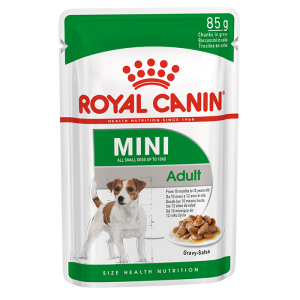 Влажный корм Royal Canin (Роял Канин) Mini Adult в соусе для собак мелких пород 85 г