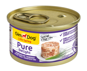 Консерва для собак GimDog Little Darling Pure Delight chicken with tuna (с курицей и тунцом) 85 г