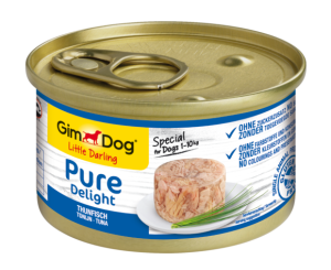 Консерва для собак  GimDog Little Darling Pure Delight tuna (тунец) 85 г