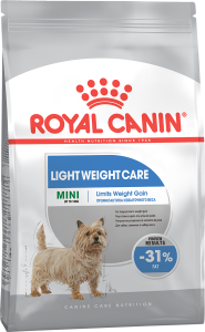 Сухой корм для собак мелких пород Royal Canin (Роял Канин) MINI LIGHT WEIGHT CARE (Мини Лайт Вейт Кэа) 3 кг