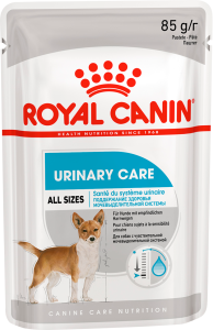 Влажный для собак корм Royal Canin (Роял Канин) URINARY POUCH LOAF (Уринари) паштет, 85 г (упаковка 12 шт)