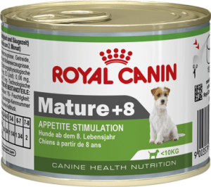 Влажный корм для пожилых собак Royal Canin (Роял Канин) Mature +8 Wet консерва 195 г.