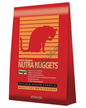 Nutra Nuggets Cat Hairball (Нутра Нагетс хаербол) для кошек 10 кг.