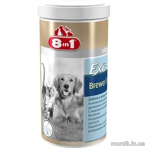 Excel Brewers Yeast (Бреверс) для котов и собак 1430 табл.