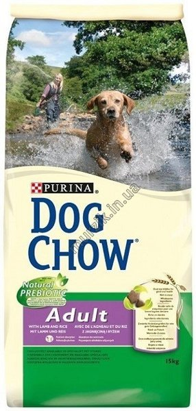 Новинка от Dog Chow! Dog Chow Adult Lamb.