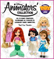 Дисней Аниматоры - Disney Animators' Collection