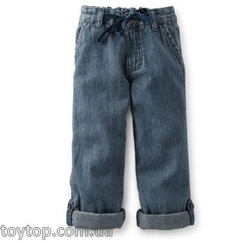 Джинсы Roll-Cuff Denim Pants