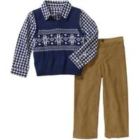 Комплект George Baby Toddler Boy Argyle Sweater and Pants 2-Piece Set
