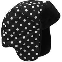 Шапочка Faded Glory Girls' Dot Plush Trapper Hat