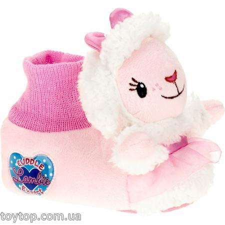 Тапочки  Doc Mcstuffins Lambie Toddler Girls' Slipper