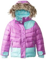 Зимняя куртка Free Country Little Girls' Down Color-Block Winter Coat