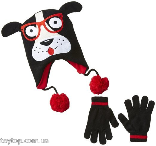 Набор Smartie Pup Knit Hat and Glove Set
