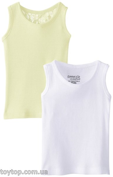 Майки Freestyle Revolution Little Girls' 2 Pack Crochet Lace Tank