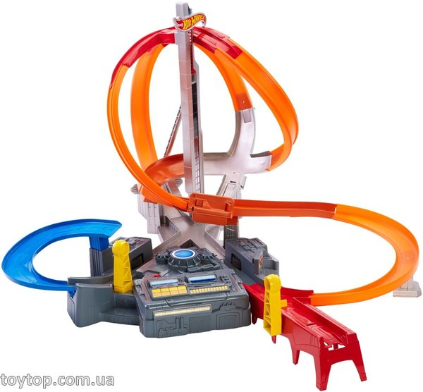 Трек Шторм - Hot Wheels Spin Storm Playset