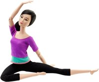 Barbie Made to Move Barbie Doll, Purple Top