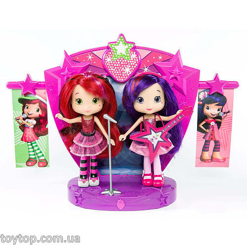 Набор Земляничка - Strawberry Shortcake Sweet Beats Stage Playset