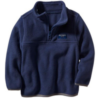 Флиска Old Navy Logo Performance Fleece Half Zip Pullover For Baby - Ink Blue
