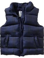 Frost Free Plaid Vest for Baby