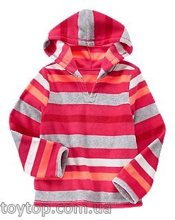 Флиска Stripe Hooded Pullover
