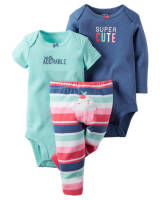 Боди комплект Carter's 3 предмет - 3-Piece Bodysuit & Pants Set