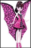 Кукла ульотна Дракулора Monster High Ghoul-to-Bat Transformation Draculaura Doll