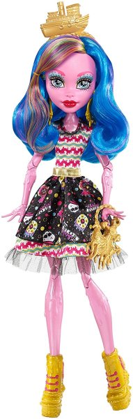 Гулиопа Джелингтон- Monster High  Shriekwrecked Gooliope Jellington Doll