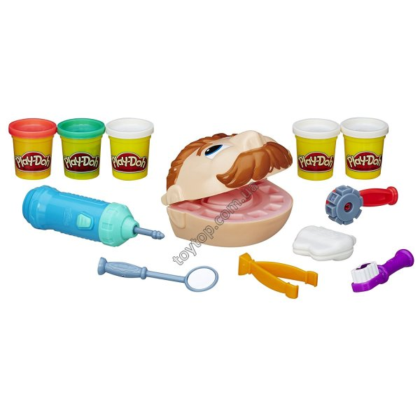 Play-Doh Doctor Drill 'n Fill Retro Pack Мистер зубастик
