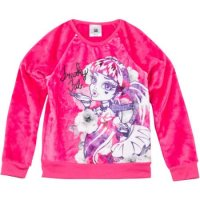 "Плюшевый свитшот Monster High Girls' Printed Fur Sweatshirt ""Freaky Fab"""