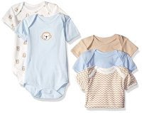 Набор боди Rene Rofe Baby Boys' 5 Piece Shortsleeve Bodysuit Set