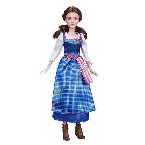 "Бэль ""Красавица и Чудовище"" - Disney Beauty and the Beast Belle Village Dress Doll - Brunette"