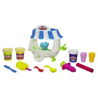 Масса для лепки (пластилин) Play-Doh Sweet Shoppe Ice Cream Sundae Cart Playset