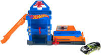 Хот Вилс Робо Лифт- Hot Wheels Robo-Lift Speed Shop Playset