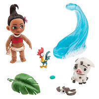 Моана - Disney Animators' Collection Moana Mini Doll Play Set - 5''