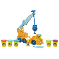 Масса для лепки (пластилин)  Play-Doh Town Power Crane Playset (Colors/Styles Vary)